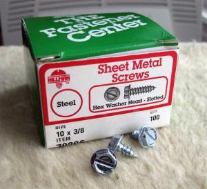 hex head sheet metal screws