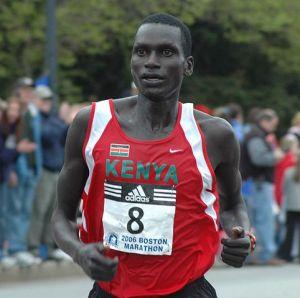 Cheruiyot at 2008 Boston